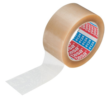 Adhesive tape, Tesaband 4124, removable without residue