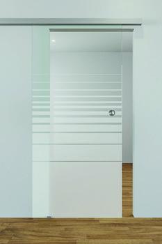All-glass doors, GDV screen printing motif | online at HÄFELE