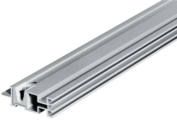 Aluminium cross profile, for shelves
