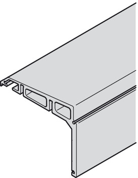 Angled support profile, Dual running