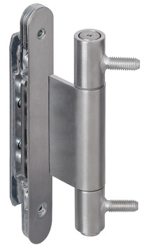 Architectural door hinge, Simonswerk VN 3737/160 Compact, for rebated architectural doors up to 160 kg