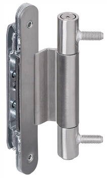 Architectural door hinge, Simonswerk VN 3747/160 Compact, for flush architectural doors up to 160 kg