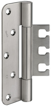 Architectural door hinge, Startec DHX 1160/18, for flush architectural doors up to 160 kg