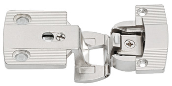 Architectural hinge, Aximat 300 SM, for half overlay mounting, 6 mm gap