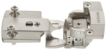 Architectural hinge, Aximat 300 SM, for twin mounting, 6 mm gap