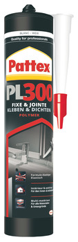 Assembly adhesive, Pattex PL 300 Total Fix, MS-Polymer