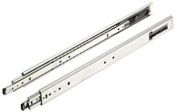 Ball bearing runners, full extension, Accuride 5321 EC, load-bearing capacity up to 100 kg, steel, side mounting