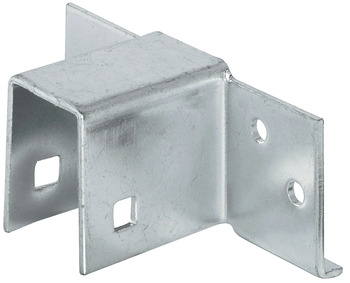 Bed plinth connector, for single and double beds