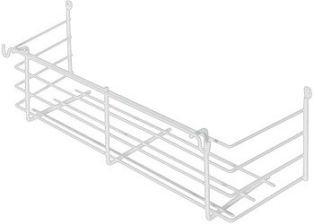 Built-in basket, open at rear, 335 x 115 x 100 mm