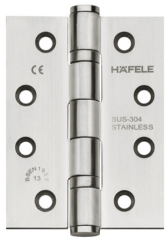 Butt hinge, For flush interior doors up to 120 kg, Startec