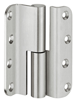 Butt hinge, for rebated interior doors up to 60 kg