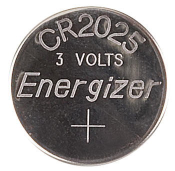 Button cell battery, CR 2016, CR 2025 and CR 2032, lithium, 3 V