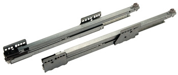 Cabinet rail, Grass Nova Pro Tipmatic Plus, full extension, load bearing capacity 70 kg