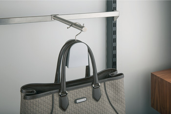 Clothes hanger rail, Stainless steel, garment display rail for support rail and carrier frame, steel