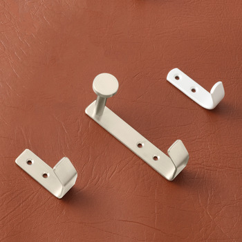 Coat hook, Satin stainless steel