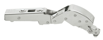Concealed hinge, Blum Clip Top Cristallo 125°, for glass and mirror doors