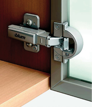 Concealed hinge, Clip Top Blumotion 95°, full overlay mounting, for narrow frames