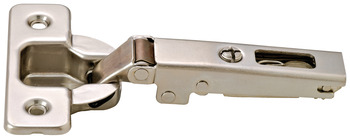 Concealed hinge, Häfele Duomatic 94°, for thick doors and profile doors up to 35 mm, full overlay mounting