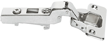 Concealed hinge, Häfele Metalla SM, 110°, half overlay mounting/twin mounting