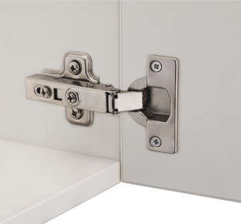 Concealed hinge, Metalla SM G1 95° Combi, half overlay mounting/twin mounting