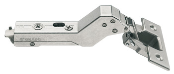 Concealed hinge, Tiomos 110°, 37° corner applications, inset