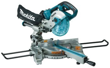 Cordless Slide compound mitre saw, Makita DLS714Z