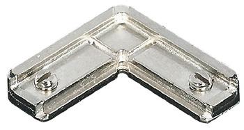 Corner connector, for aluminium glass frame profiles 23/26/38 x 14