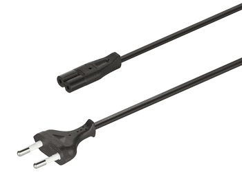 Country-specific mains lead, For Loox drivers 12 V, 24 V, 350 mA, 700 mA
