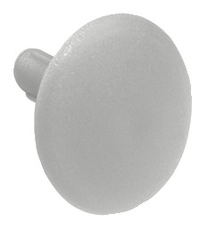 Cover cap, For screw fixing with central hole, 3.0 mm
