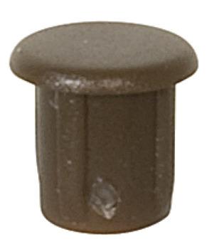 Beige Plastic 5mm Hole Cover Caps Choose Quantity