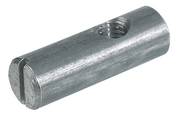 Cross dowel, Steel, with M6 thread, eccentric