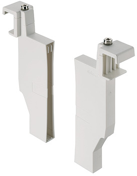 Crossways divider holder set, Blum Orga-Line, for Tandembox antaro, for system height K with railing C