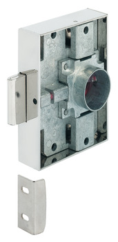 Dead bolt rim lock, Heavylock, with cylinder removable core, backset 40 mm