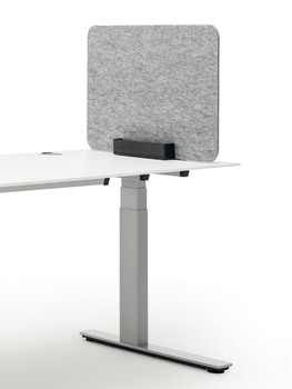 Desk screen, With desktop stand