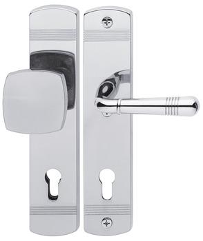 Gentil Door Handle Set, Brass, Jado, Montparnasse 421/354/416 ES2 (forced ...