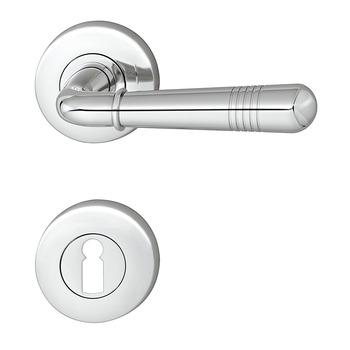 Door Handle Set, Brass, Jatec, Montparnasse R 416/391 | Online At HÄFELE
