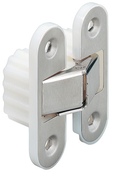 Door hinge, concealed, for flush interior doors up to 50 kg