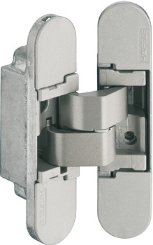 door hinge, Startec CDH 40, concealed, for flush interior doors up to 40 kg