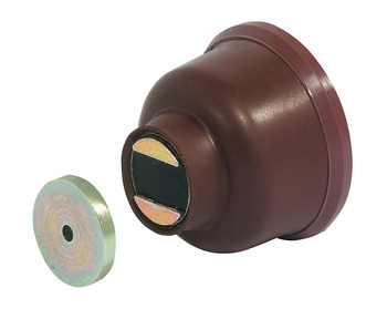 20 kg Brown Approx. Door Holder Magnetic Pull Finish