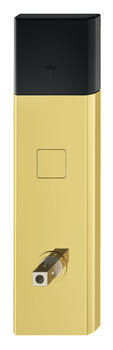 Door terminal set, DT 750, for interior/guest room doors, with thumbturn, with Bluetooth interface
