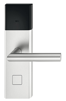 Door terminal set, Häfele Dialock DT 700 with Bluetooth interface HB, for interior/guest room doors, with thumbturn