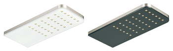 Down light, square, LED 1086, aluminium, 12 V