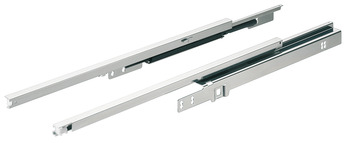 Drawer runners, Variant-C/C+, load bearing capacity 16 kg/pair, single extension, for shallow type drawer
