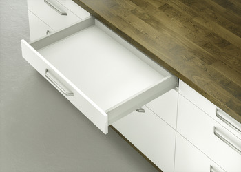 Drawer set, Häfele Moovit MX, drawer side height 92 mm, 50 kg