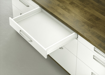 Drawer set, Häfele Moovit MX, drawer side height 92 mm, 70 kg