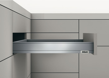 Drawer side, Blum Legrabox pure, System height N