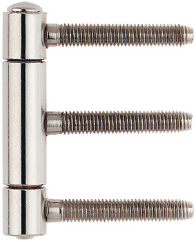 Drill-in hinge, Anuba Herkula 315 GL-RA, Herkula 315 GL-FR, for rebated interior doors up to 55 kg