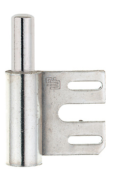 Drill-in hinge, frame part, Simonswerk V 8100, for flush and rebated interior doors up to 40 kg