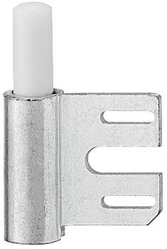 Drill-in hinge, frame part, Simonswerk V 8100 WF, for flush and rebated interior doors up to 40 kg