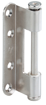 Drill-in hinge, wing part, Simonswerk V 0037 WF, For rebated interior doors up to 80 kg